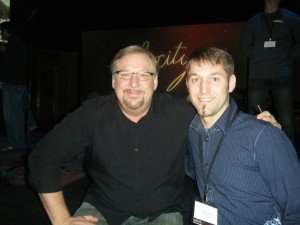 I got to meet Rick Warren, one of my all time Spiritual Influences